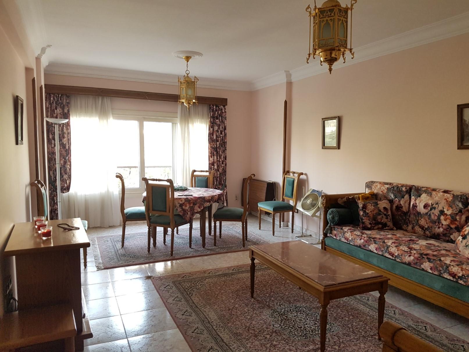 شقة للبيع في المعادي نيركو الشطر الثالث 150م سوبر لوكس موقع مميز