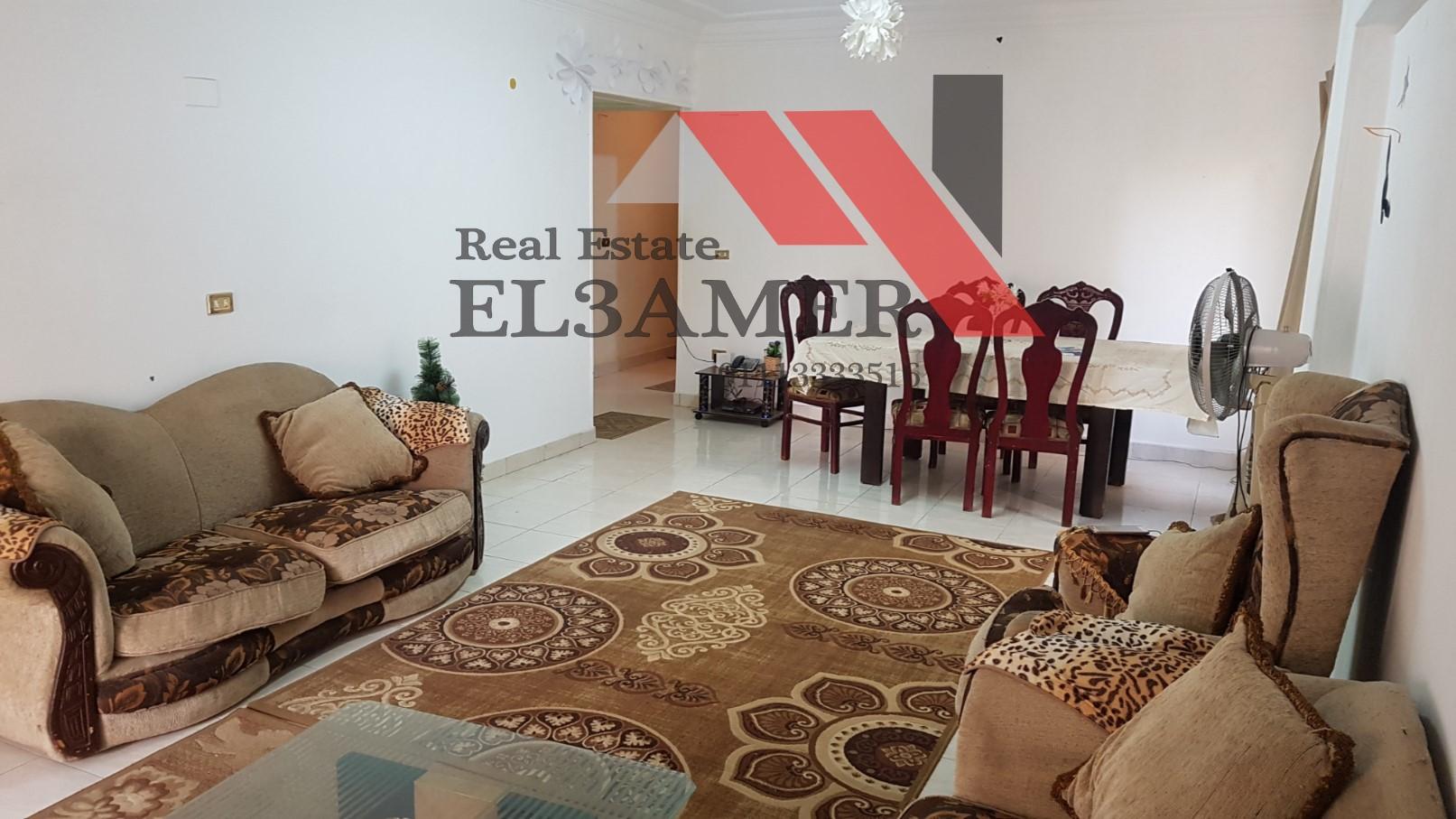 شقق للايجار : شقة للايجار مفروشة ومكيفة 176م في المعادي نيركو